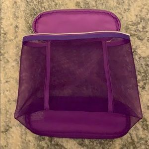 NEW Clinique Purple Bag